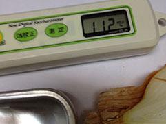 たまねぎの糖度は平均9以上